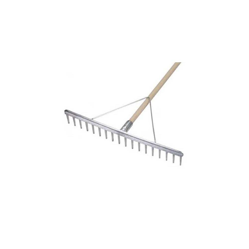18a chelwood rake heavy duty aluminium deal for soil grass for Heavy duty garden rake