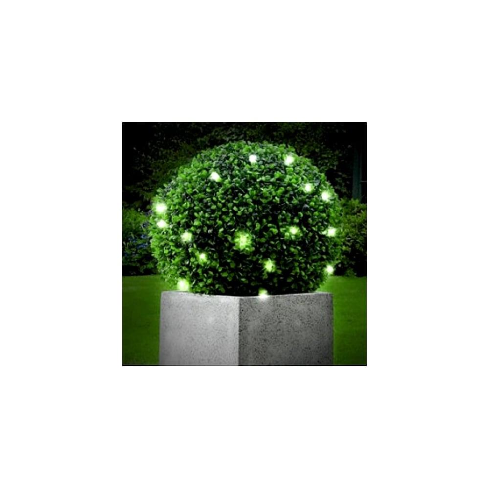 40cm Topiary Balls Part - 33: Gardman 40cm Gardman Artificial Decorative Topiary Ball Buxus Leaf 30  Lights 02830