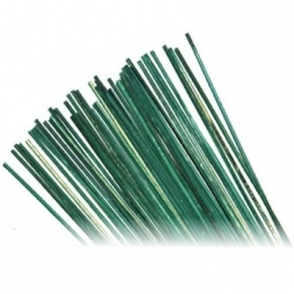 "50 x 18"" Green Garden Split Canes - Good Quality Plant Support"