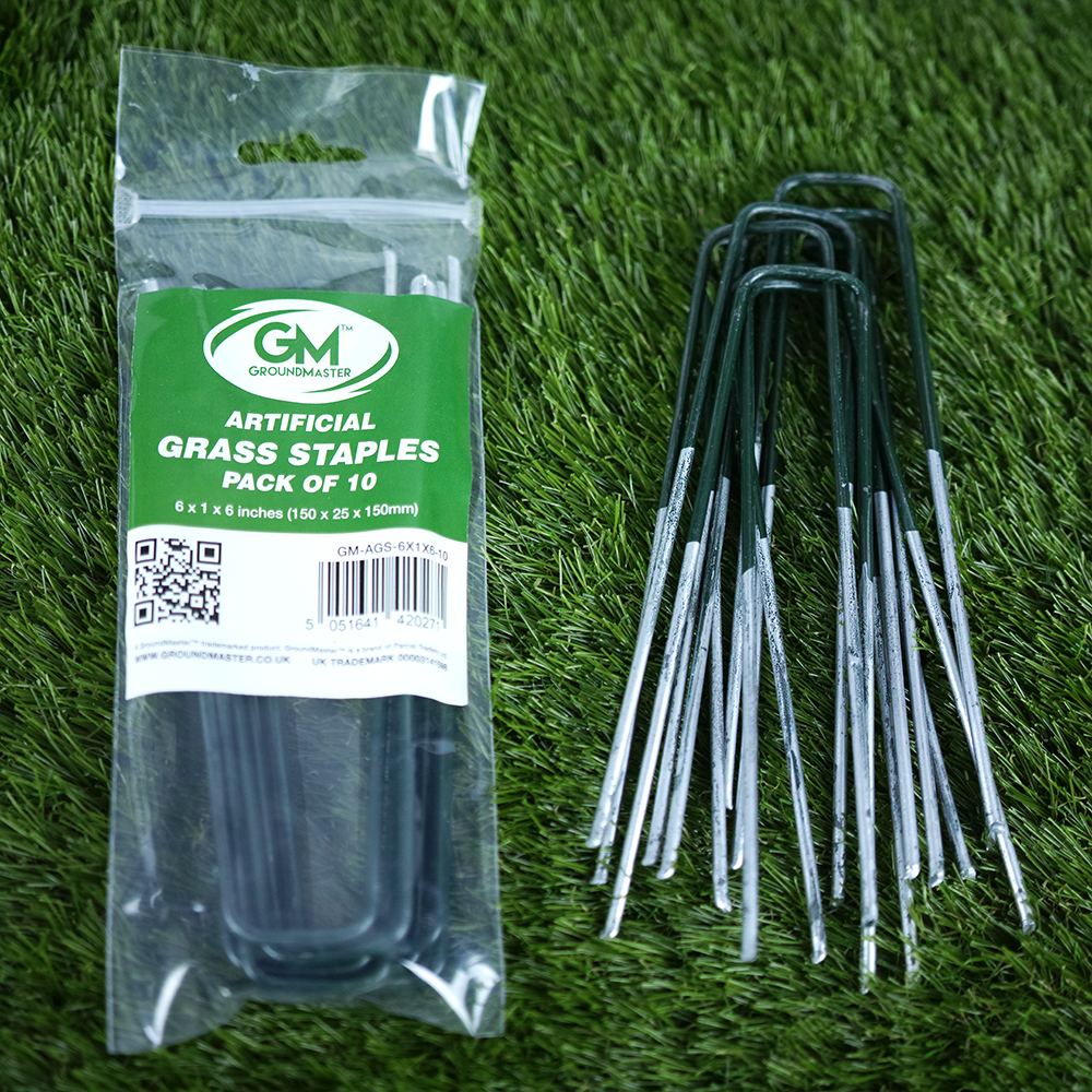 6 Inch Galvanised Steel Artificial Grass Staples