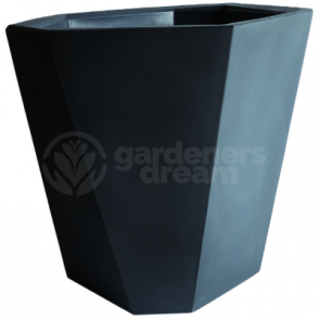 Anthracite Rock Polygonal Pot In Various Colours Shape & Sizes