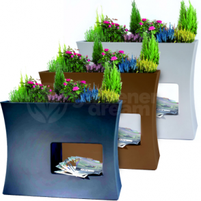 Argo Flower Box Pot In Various Colours Shape & Sizes
