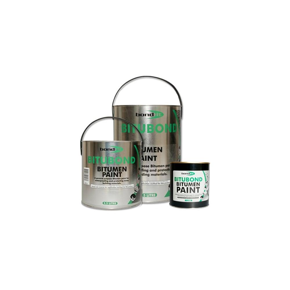 Bitumen Paint Amp Primer Waterproof Seal Repair Roof Leak