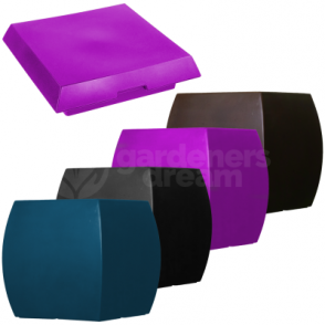 Boote Square Flower Pot & Lids In Various Colours Shape & Sizes