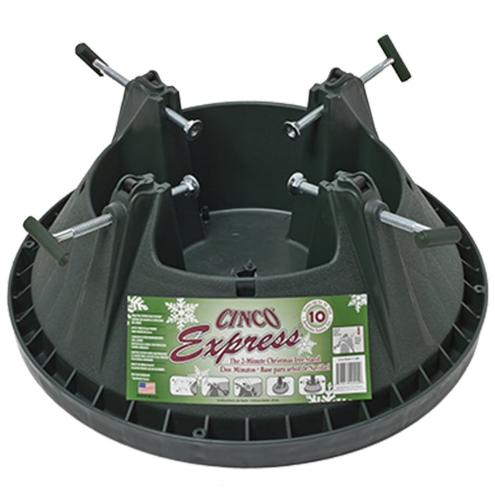 Christmas Tree Stands.Cinco Express 10ft Real Christmas Tree Stand