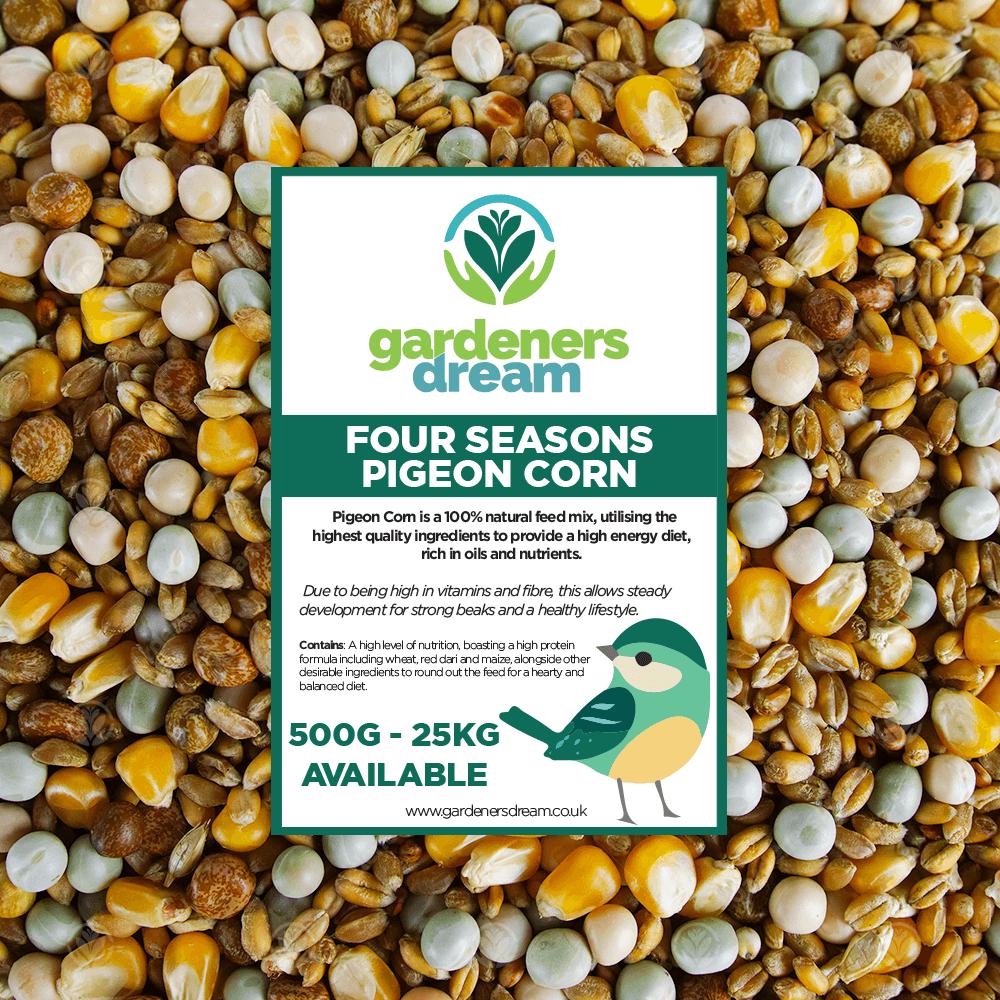 GardenersDream Four Seasons Pigeon Corn