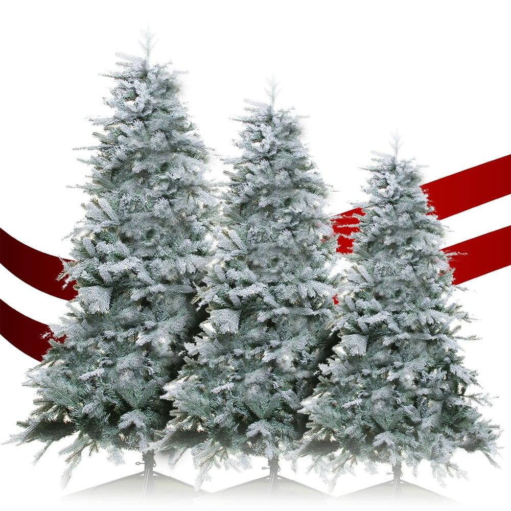 Artificial Christmas Tree Sizes.Gardenersdream Frost Vermont Spruce Artificial Christmas Tree In Various Sizes