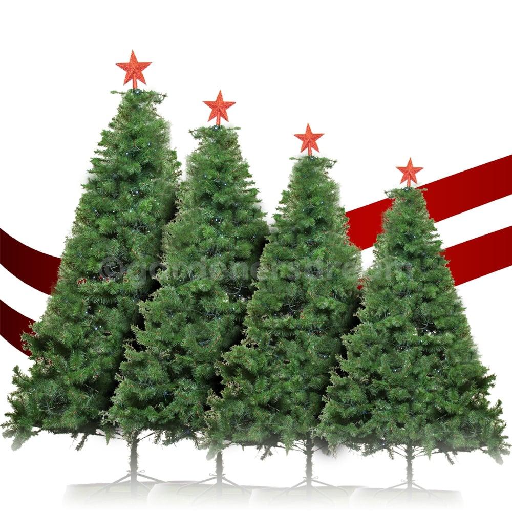 Artificial Christmas Tree Sizes.Gardenersdream Imperial Pine Artificial Christmas Trees In Various Sizes