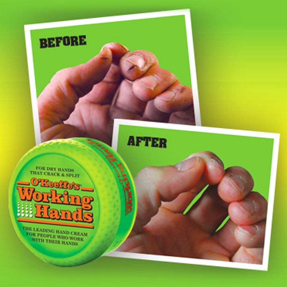 o keeffe s working hands healthy feet foot cream for cracked heals