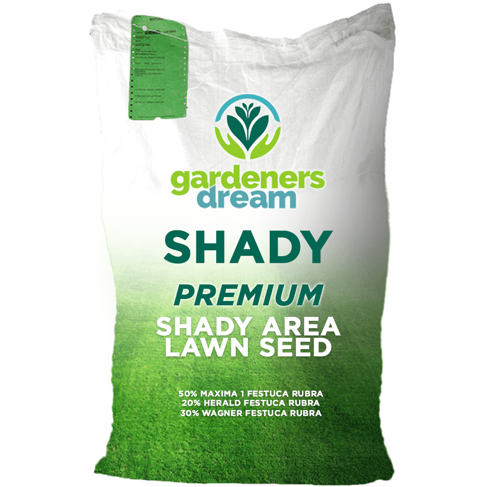 5KG GARDENERS DREAM SHADY LAWN DARK AREA UNDER TREES QUALITY GRASS SEED