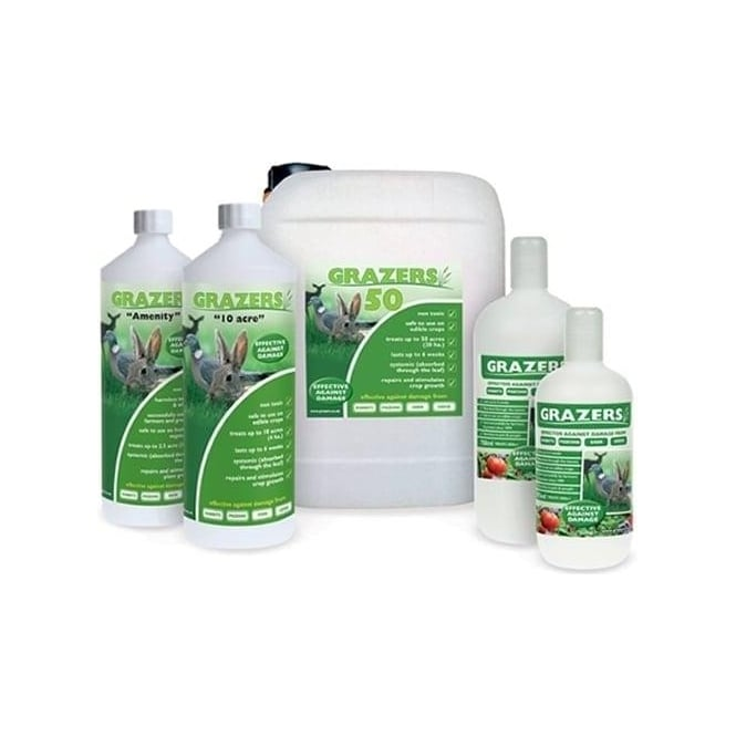 GardenersDream Grazers 1L Rabbits Deer Pigeons Geese Repellent Perfect For Flowers And Veg