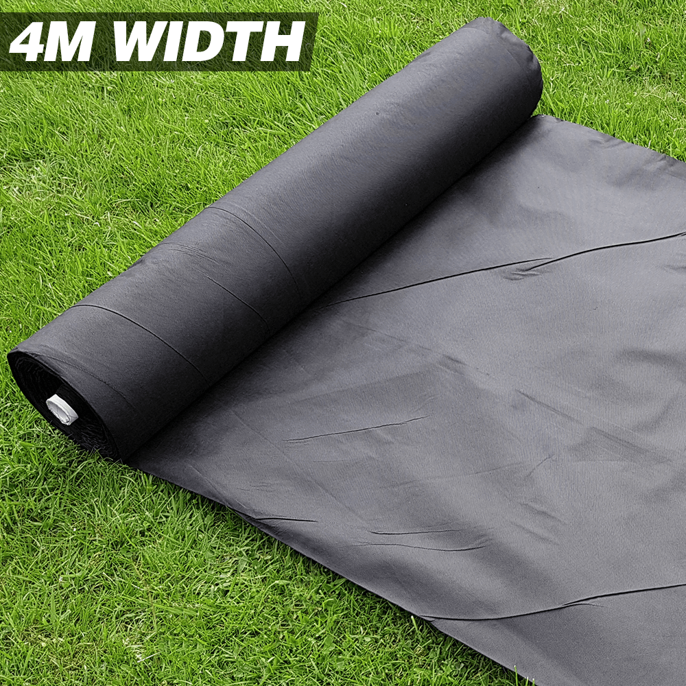Ground Cover Fabric 1m 4m Wide x Various Lengths Weed Control Fabric