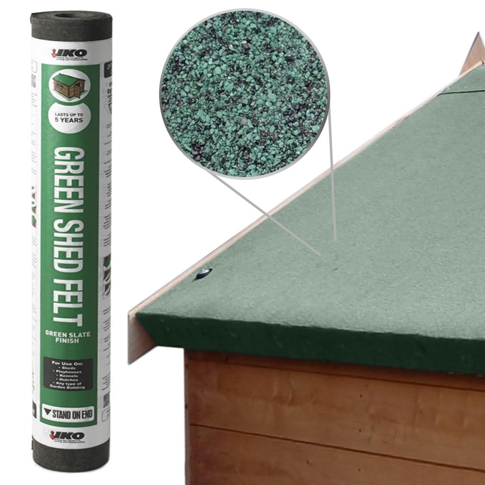 20M Roofing Roof Shed Kennel Black Mineral Finish Felt Trade
