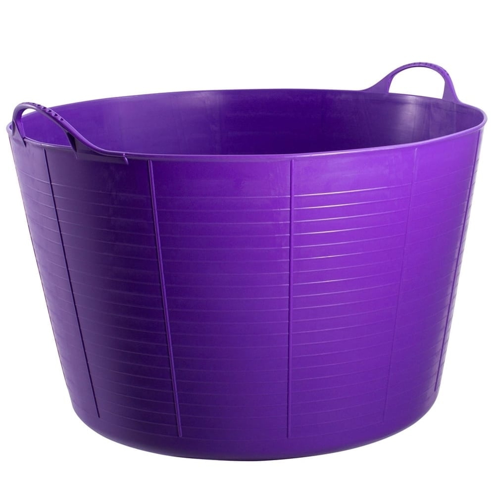 Tubtrugs Extra Large 75L Purple Storage Tub | GardenersDream